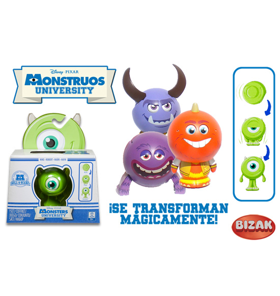 MONSTRUOS UNIVERSITY. MONSTUOS RODANTES