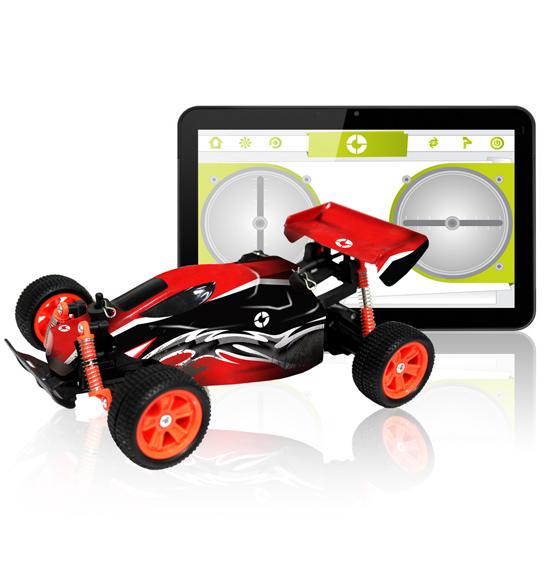 Tablet + Rc Car