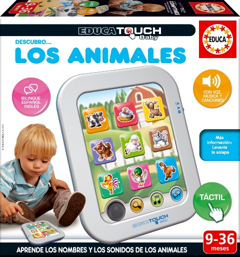 300514 EDUCA TOUCH BABY Descubro los animales