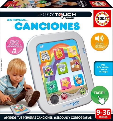 300514 EDUCA TOUCH BABY Mis primeras canciones