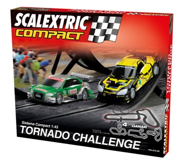 2111114SCALEXTRIC COMPACT Tornado Challenge