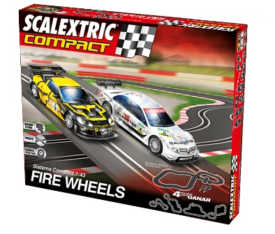 211114SCALEXTRIC COMPACT Fire Wheels