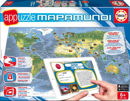 261114EDUCA Appuzzle Mapamundi