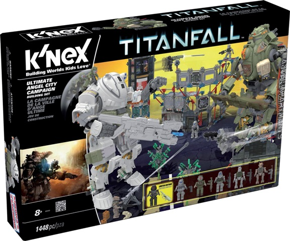 191214 K'NEX Titanfall Ultimate Angel City