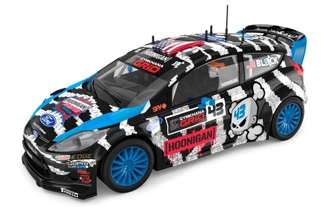 191214 SCALEXTRIC - Ford Fiesta RS WRC 'Block'