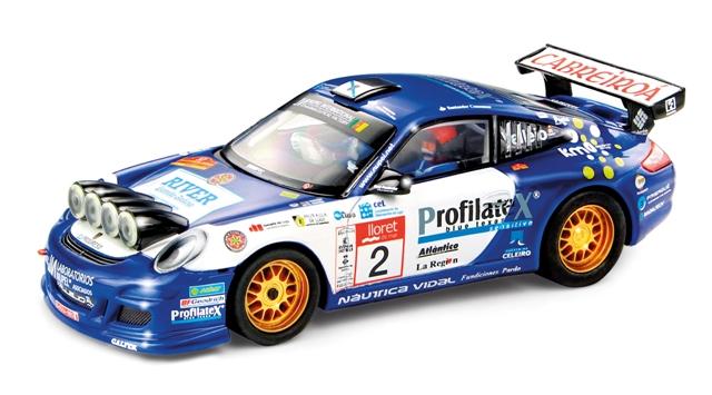 191214 SCALEXTRIC - Porsche 911 GT3 Rally 'Champion'
