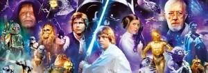 PUZZLE EDUCA Star Wars 1000 piezas