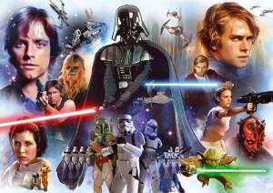 PUZZLE EDUCA Star Wars 3000 piezas