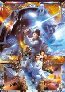 PUZZLE EDUCA Star Wars 500 piezas