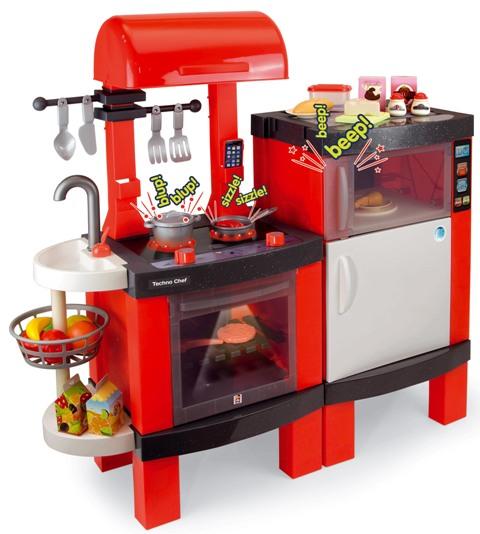Una l nea de cocinas de juguete para los chefs del futuro for Cocina de juguete