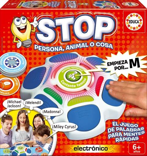 Stop El Juego De Las Palabras Para Mentes Rapidas Dale Tiempo Al