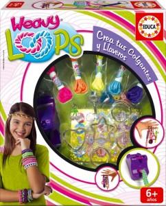 271115 Weavy Loops Crea tus colgantes y llaveros