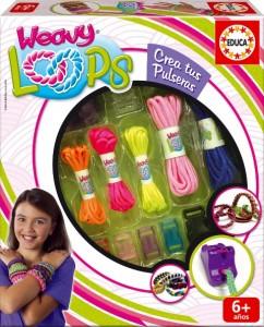 271115 Weavy Loops Crea tus pulseras