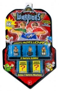 ENERGIA LEGION OF WARRIORS Pack 5 Luchadores