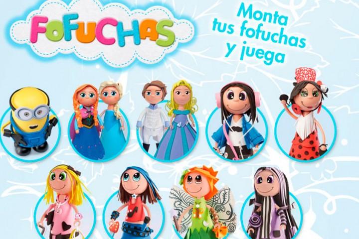 Diseña tus Fofuchas con Minions, Frozen o Cenicienta