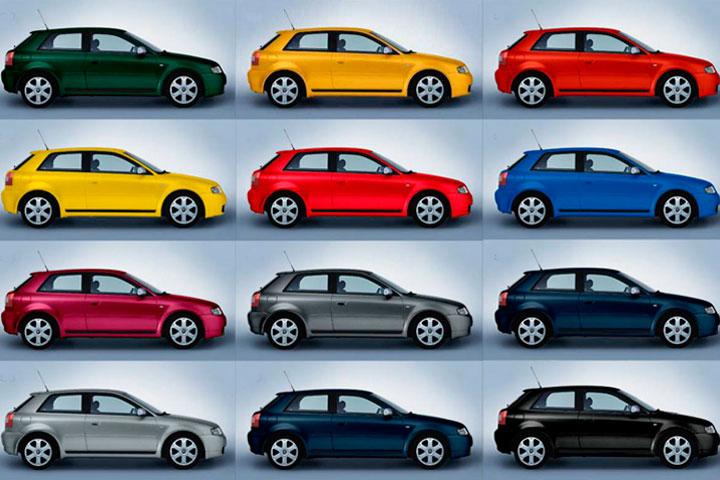Contar coches de distintos colores