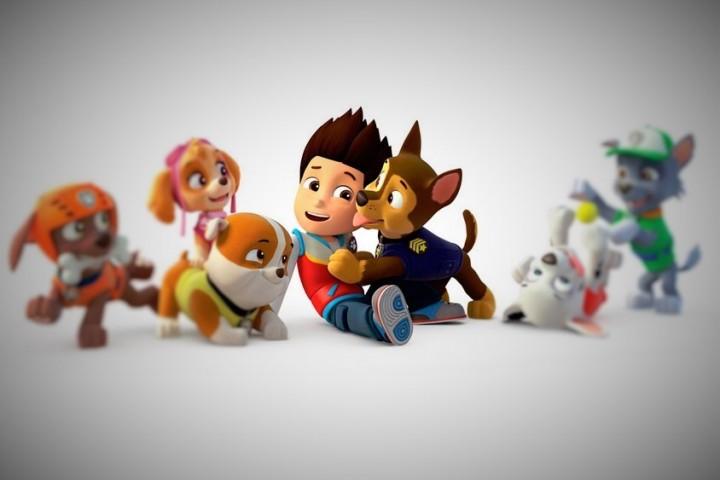 Nuevos lanzamientos de Chicos: La Patrulla Canina