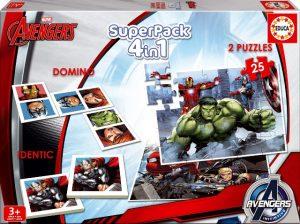 EDUCA Los Vengadores Superpack 4en1