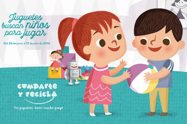 Arranca la tercera edición de la mayor campaña de recogida de juguetes