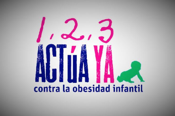 """AEFJ y la Fundación Crecer Jugando apoyan la campaña """"1,2,3 Actúa ya contra la obesidad"""""""