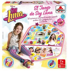 BORRAS El juego de Soy Luna