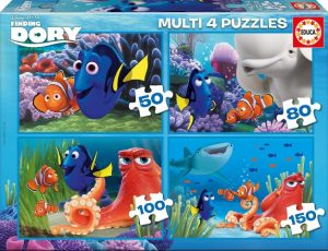 EDUCA Multi 4 puzzles Buscando a Dory