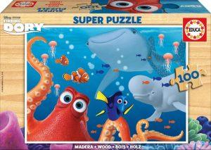 EDUCA Super Puzzle 100 pz Buscando a Dory
