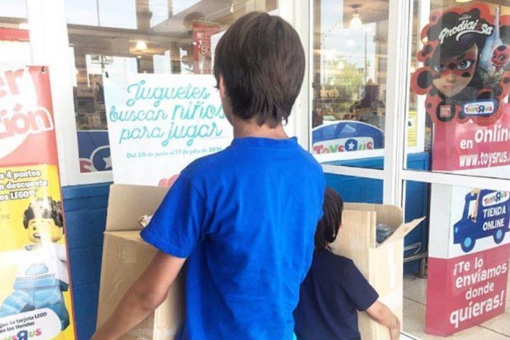 La solidaridad de los más pequeños se hace juguete en Comparte y Recicla