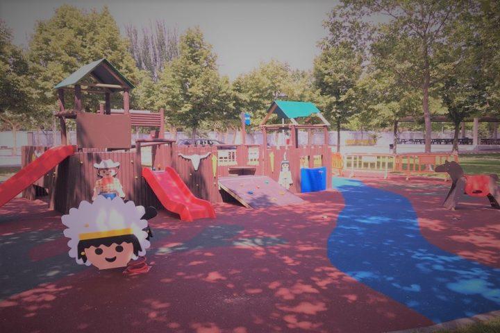 Parques infantiles de PLAYMOBIL por toda España